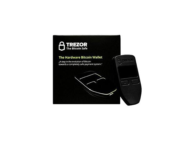 Digitalni novčanik Trezor  za kriptovalute, crni