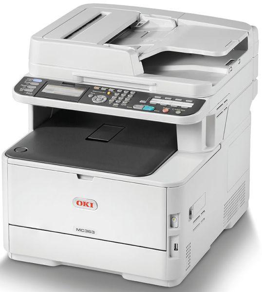 Oki MC363dn print/scan/copy/fax, 26/30 str., dupl.