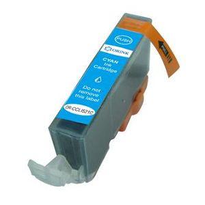 Zamjenska Canon CLI-521C,plav(bez mikročipa)