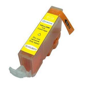 Zamjenska Canon CLI-521Y,žuta(bez mikročipa)