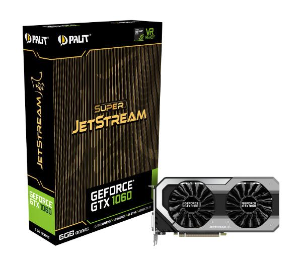 Palit GF GTX1060 Super JetStream, 6GB GDDR5
