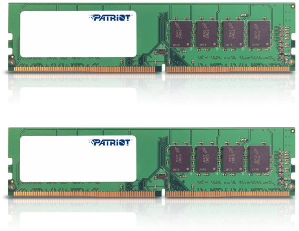 Patriot Signature,  DDR4, 2133Mhz, 16GB (2x8GB)
