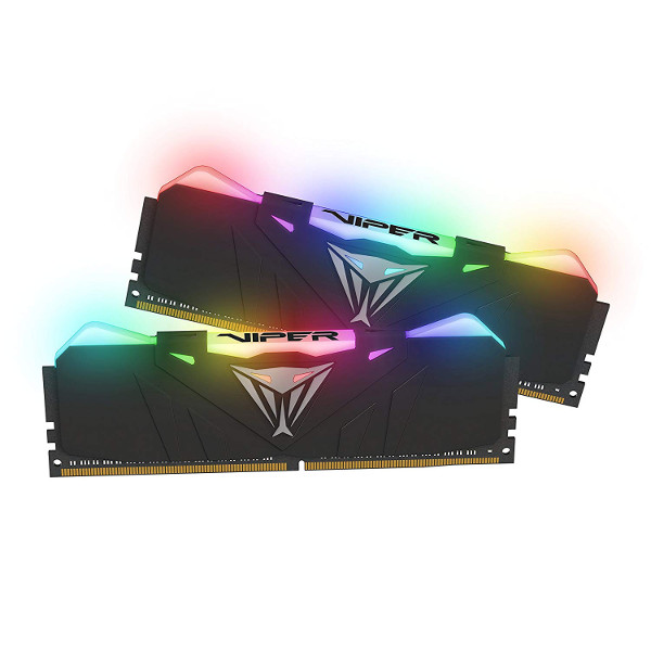 Patriot Viper RGB LED, 3000Mhz, 16GB (2x8GB) black