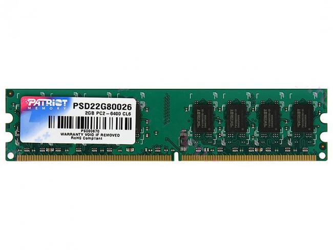 Patriot Signature,DDR2  800Mhz, 2GB