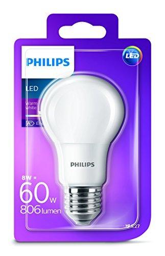 Philips LED žarulja, E27, A60, topla, 8W, mutna
