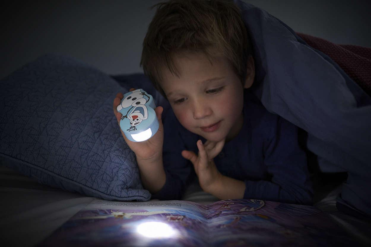 Philips ručna svjetiljka Frozen Olaf, bat.