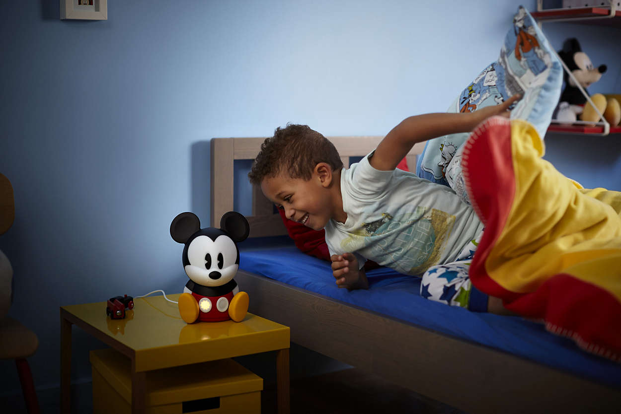 Philips prijenosna svjetiljka Mickey Mouse sleep.