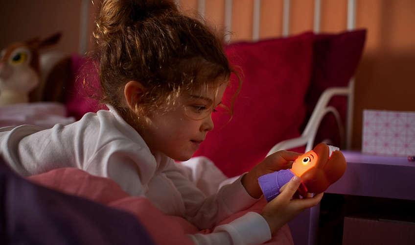 Philips prijenosna svjetiljka Softpal Sofia, bat.