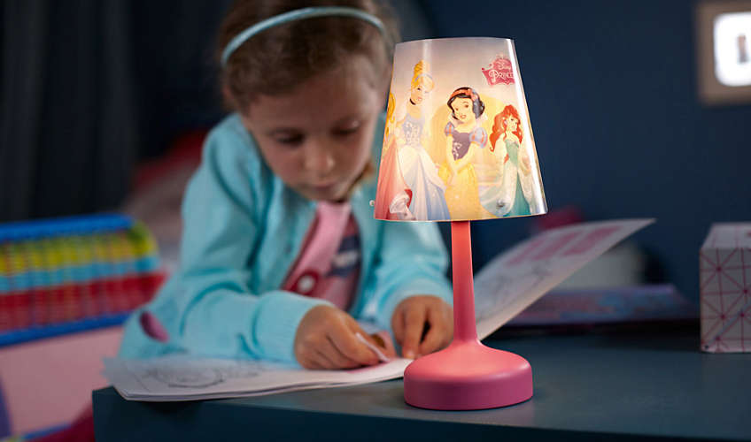 Philips stolna lampa Princess, bat.