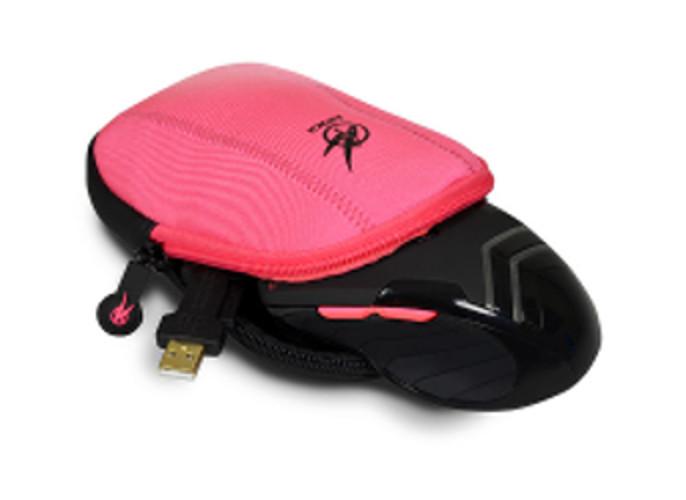 Port torbica za igraćeg miša AROKH, pink