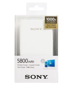 Sony power bank za mob. 5800 mAh, bijeli