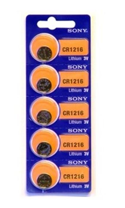 Sony litijska bat., vel. CR1216, blister