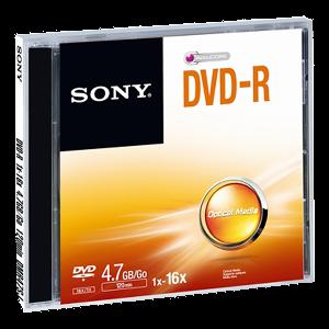 Sony DVD-R, 4,7GB, 16x, kutija