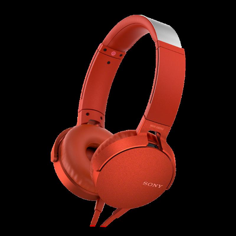 Sony MDR-XB550AP EXTRA BASS, crvene