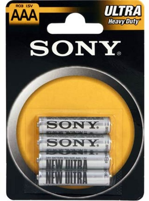 Sony cink baterija AAA/R03, 4kom, blister