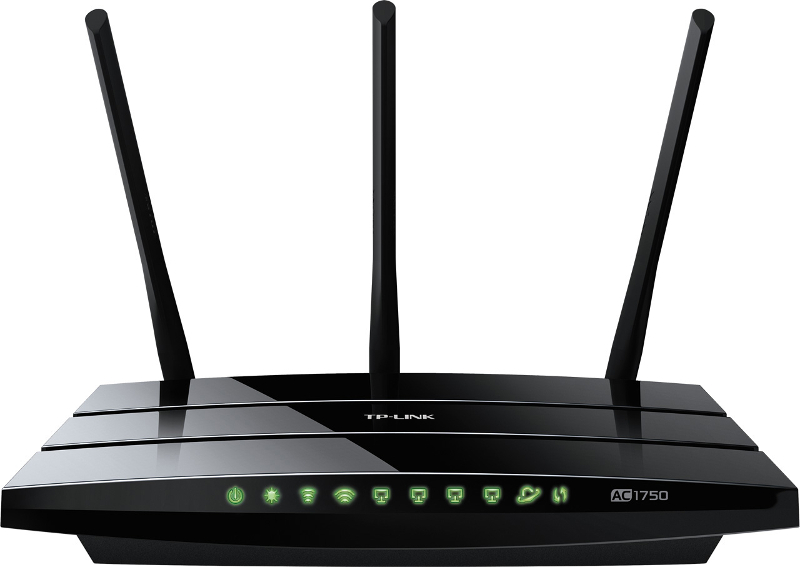 TP-Link Archer C7, AC1750 WLAN Gbit Router, 1W/4L