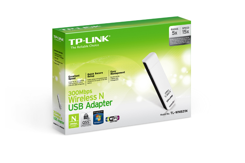 TP-Link TL-WN821N, WLAN USB adapter 300Mbps
