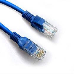 SBOX patch kabel UTP Cat 5e 2m, plavi