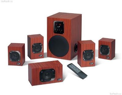 Genius zvučnici SW-HF5.1 4800, 125W, 230V wood