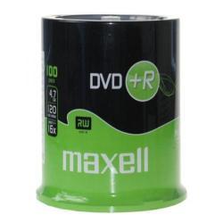 Maxell DVD+R 16x, 4.7GB 100 kom spindle