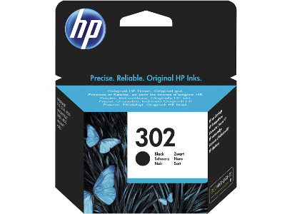 F6U66AE HP tinta crna, No.302 Black