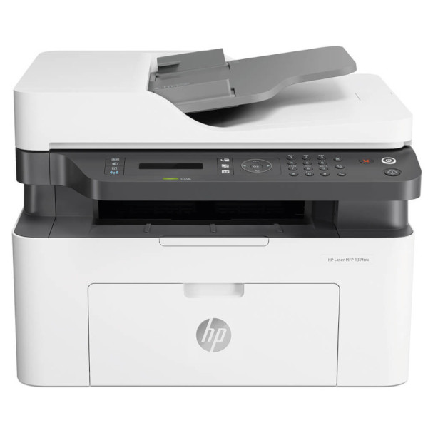HP Laser MFP 137fnw Printer, 4ZB84A