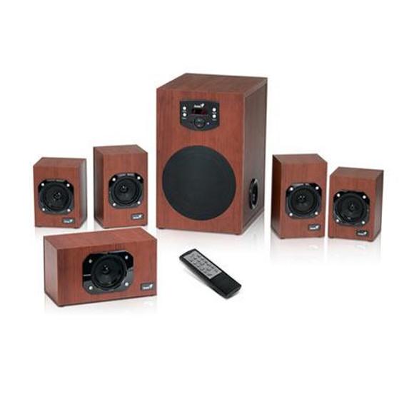 Genius zvučnici SW-HF5.1 4600, 125W, 230V wood