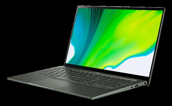 "Acer Swift 5 i7/16GB/512GB/IntHD/14""FHD/W10P/zelen"