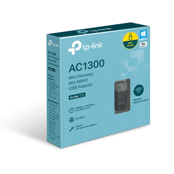 TP-Link Archer T3U, AC1300 WLAN USB adapter