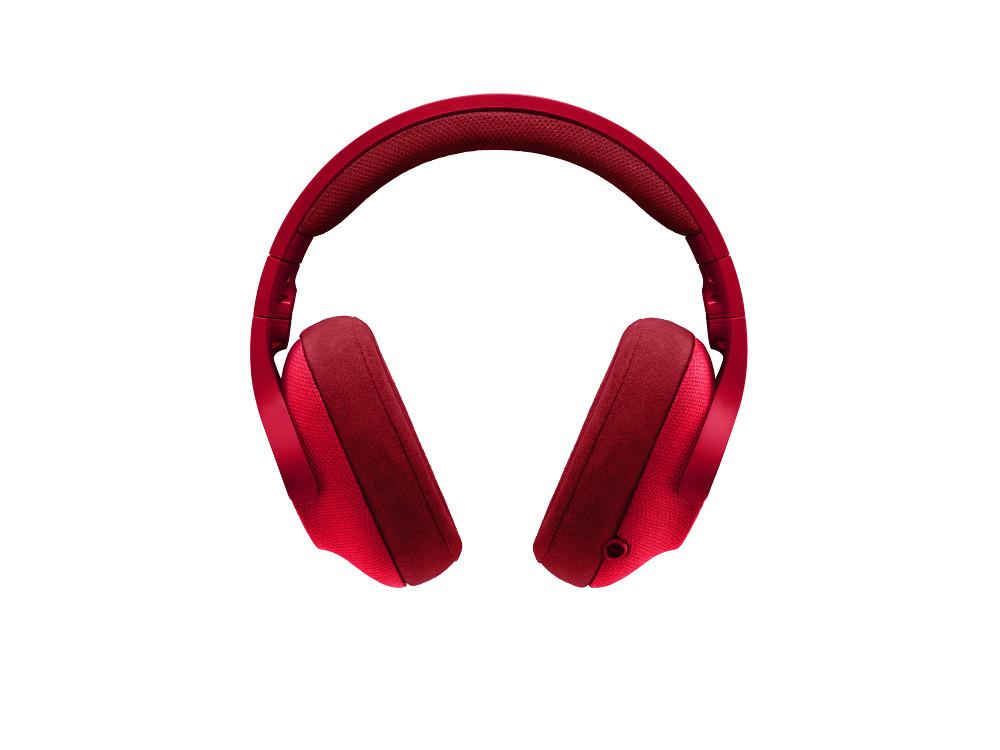 Logitech G433 slušalice s mikrofonom, 7.1, crvena