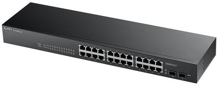 ZyXEL GS1900-24, 24-port+2SFP Gbit WebSmart Switch
