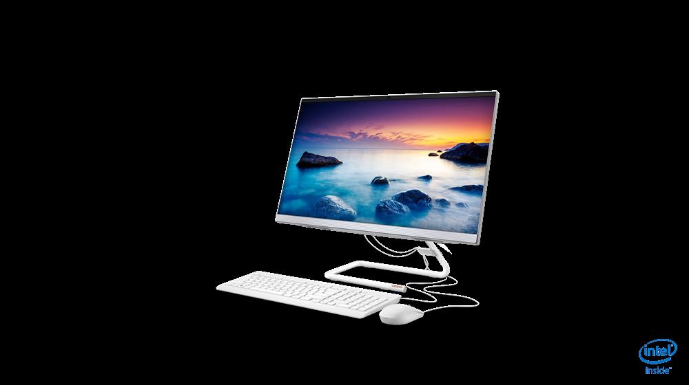 """Lenovo AiO 3 i5/8GB/512GB/IntHD/24""""FHD/DOS/bijeli"""