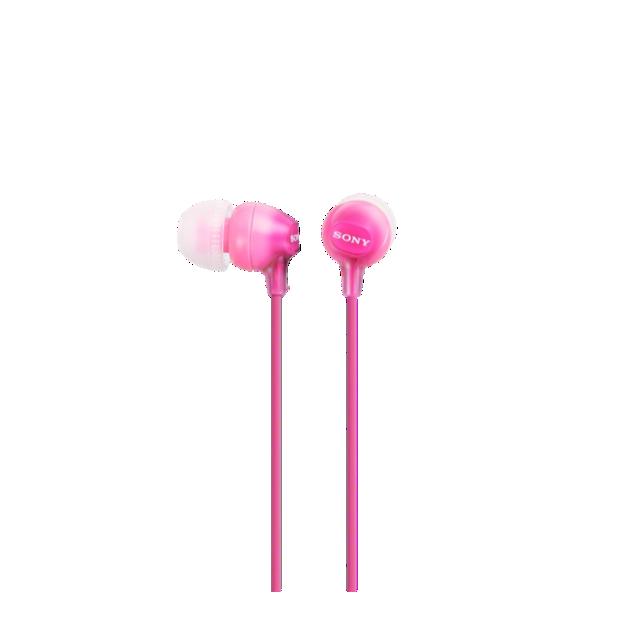 Sony EX15APPI slušalice in-ear 9 mm roze
