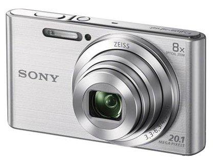"Sony DSC-W830S 20Mp/8x/2.7""/720p  srebrni"