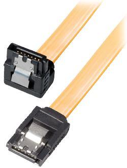 Kabel HDD/SATA kutni, 0,5m, s kvačicom