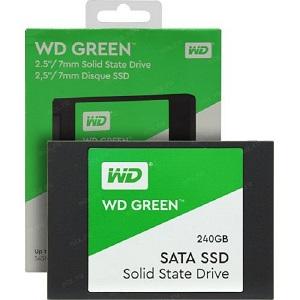 """WD Green SSD 240GB, 2,5"""", 7mm, R545/W430"""