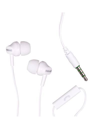 Maxell EB875 slušalice s mikrofonom, bijele