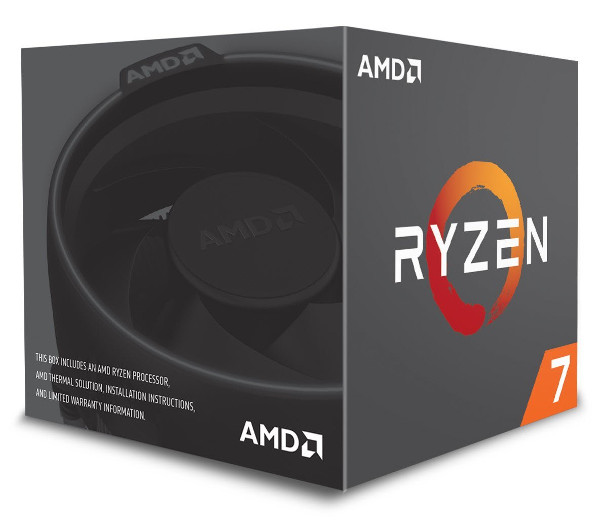 AMD Ryzen 7 2700, 8C/16T 3,2GHz/4,1GHz, 16MB, AM4
