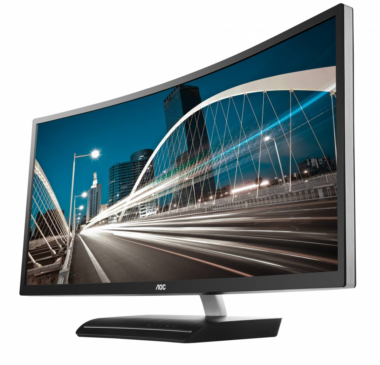 "AOC LED 35"" C3583FQ, DVI, HDMI, DP, 2k, zvu"
