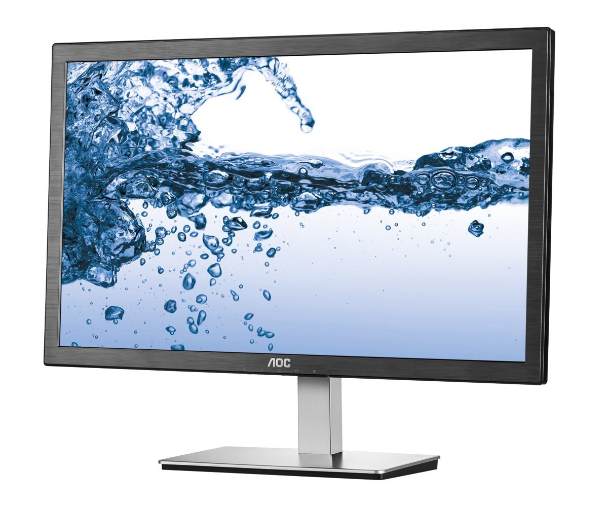 "AOC LED 24"" I2476Vwm, VGA, HDMI, IPS, anti-flic"