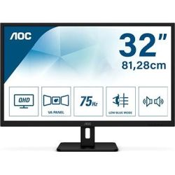 "AOC LED IPS 31,5"" Q32E2N, 2xHDMI, DP, zvu. 75Hz"