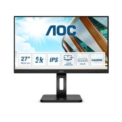 "AOC IPS 27"" U27P2CA, 2xHDMI, DP, USB-C, HAS, zuč."