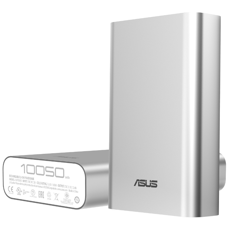 Asus ZenPower ABTU005, powerbank, 10050mAh, srebrn