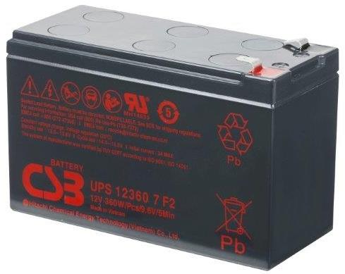 Zamjenska baterija za UPS, 12V, 7Ah, bez pakiranja