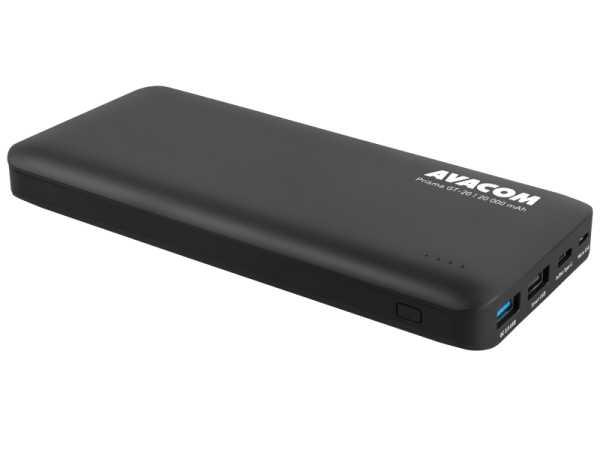 Avacom PowerBank PRISMA GT-20,20k mAh,USB-C,crni