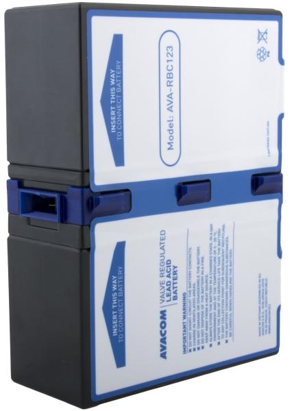 Avacom baterija za APC RBC123 (2 bater.)