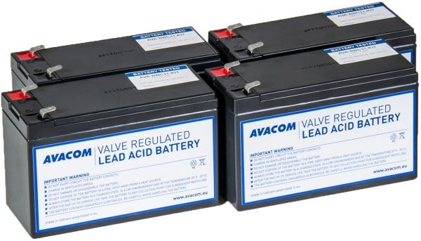 Avacom baterijski kit za APC RBC31 (4 bater.)