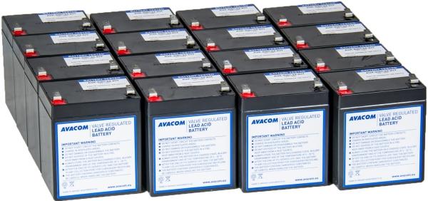 Avacom baterijski kit za APC RBC44 (16 bater.)