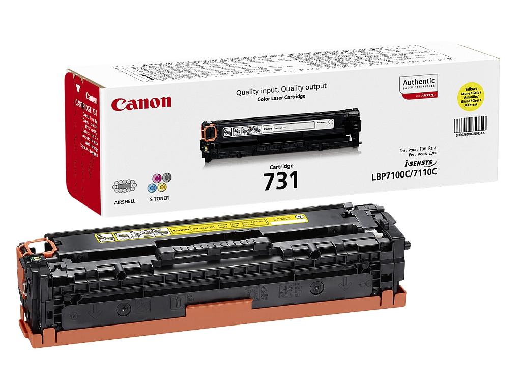 Canon toner CRG-731Y, žuti