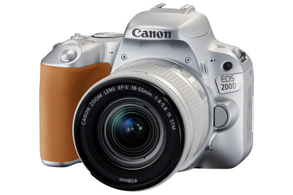 Canon EOS 200D + 18-55mm IS, srebrni